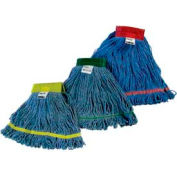 Impact Cotton/Synthetic Blend Saddle-Type Looped-End Wet Mop w/Tailband-Medium, L270md - Pkg Qty 12