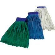 Impact® Microfiber Tube Wet Mop - Green, Large, Lf0006 - Pkg Qty 12