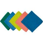 Impact® Microfiber Cloth For Glass - Blue, 16 X 16, Lfk100 - Pkg Qty 48