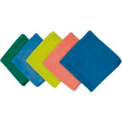 Impact® All Purpose Microfiber Cloth - Green, 16 X 16, Lfk300 - Pkg Qty 96