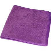 "Impact® All Purpose Microfiber Cloth, Purple 16"" X 16"" - LFK550 - Pkg Qty 8"