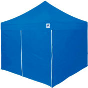 E-Z UP Vantage™ Value Pak VG9104BLVP Recreational Instant Shelter, 10'x10', Blue, Steel
