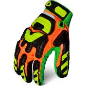 Ironclad LPI-CC5-04-L Low Profile Impact Gloves, Cut 5, 1 Pair, Multi Hi-Viz, Large