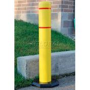 "Innoplast BollardGard Anywhere with 25 lb. Rubber Base, Orange/No Tape, 7"" x 52"", BGAW752ON"