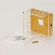 Thermostat Guard Kit, Square, Transparent