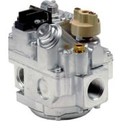 "Gas Valve - 1/2"" Inlet, 1/2"" Side Outlets, Uni-Kit Pressure Reg"