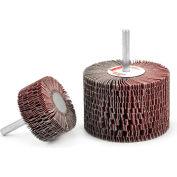 Superior Abrasives 28145 Flap Mop Mandrel 3 x 2 x 1/4 Aluminum Oxide Very Fine - Pkg Qty 5