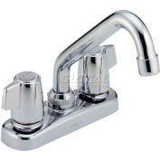 Delta 2133LF, Classic Two Handle Laundry Faucet, Chrome