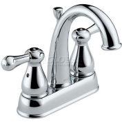 Delta 2575LF-MPU, Leland Two Handle Centerset Lavatory Faucet, Chrome