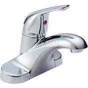 Delta B501LF, Foundations Single Handle Lavatory Faucet Less Pop-Up, Chrome