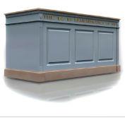 #820 Series Furniture Portable Baptistry, Light Oak Stain