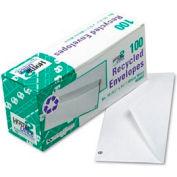 White Wove Business Envelopes, 20-lb Stock, #10, 4-1/8 x 9-1/2, 50/Box