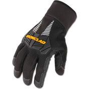 Ironclad CCG2-03-M Cold Condition Gloves, 1 Pair, Black, Medium