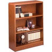 """Summit 42""""H Bookcase - 32-1/8""""W x 11-7/8""""D x 41-7/8""""H Medium Oak"""