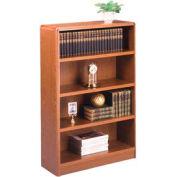 """Summit 48""""H Bookcase - 32-1/8""""W x 11-7/8""""D x 48-1/2""""H Medium Oak"""