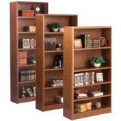 """Summit 72""""H Bookcase - 32-1/8""""W x 11-7/8""""D x 73-3/8""""H Medium Oak"""