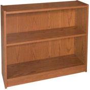 """30"""" Adjustable Bookcase - 36""""W x 11-7/8""""D x 30-5/8""""H Medium Oak"""