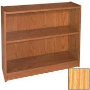 "30"" Adjustable Bookcase - 36""W x 11-7/8""D x 30-5/8""H Natural Oak"