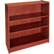 "36"" Adjustable Bookcase - 36""W x 11-7/8""D x 35-5/8""H Mahogany"