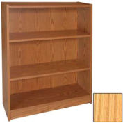 "36"" Adjustable Bookcase - 36""W x 11-7/8""D x 35-5/8""H Natural Oak"