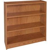 """42"""" Adjustable Bookcase - 36""""W x 11-7/8""""D x 41-7/8""""H Medium Oak"""