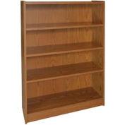 """48"""" Adjustable Bookcase - 36""""W x 11-7/8""""D x 47-1/8""""H Medium Oak"""