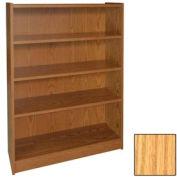 "48"" Adjustable Bookcase - 36""W x 11-7/8""D x 47-1/8""H Natural Oak"