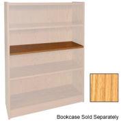"Extra Shelf - 34-1/2""W x 11-1/2""D x 3/4"" Thick for Adj. Bookcase Natural Oak"