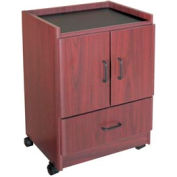 "Coffee Bar - 21-3/8""W x 17-7/8""D x 30-3/8""H Mahogany"