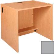 """36"""" x 39"""" Desk Shell - 36""""W x 30-1/8""""D x 39-1/4""""H Gray"""
