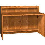 "60"" Riser Unit - 60""W x 10""D x 10""H Medium Oak"