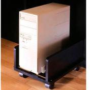 """CPU Cart - 13-1/2""""W x 17-3/4""""D x 9-1/2""""H Black Granite"""
