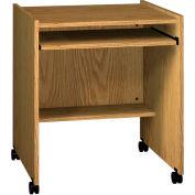 """Computer Stand - 27-1/2""""W x 23-7/8""""D x 30-1/8""""H Natural Oak"""
