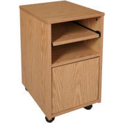 "Ironwood Fax Stand, 16""W x 20""D x 26-3/8""H, Natural Oak"