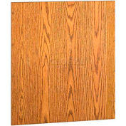 """42"""" Back Accessory - 39-1/2""""W x 3/4""""D x 35""""H Oiled Cherry"""