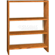 "48"" Single Face Shelving Base - 37""W x 12-1/4""D x 47-1/4""H Oiled Cherry"