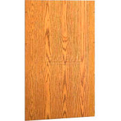 """60"""" Back Accessory - 58-3/8""""W x 3/4""""D x 35""""H Oiled Cherry"""
