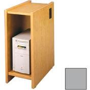 "Lab Workstation CPU Shelf - 12-5/8""W x 23-7/8""D x 30""H Gray"
