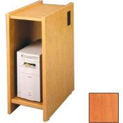 "Lab Workstation CPU Shelf - 12-5/8""W x 23-7/8""D x 30""H Oiled Cherry"