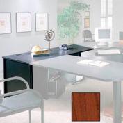 "30"" x 48"" Desk Shell - 48""W x 30""D x 28-3/8""H Mahogany"