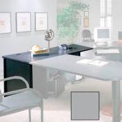 """30"""" x 72"""" Desk Shell - 72""""W x 30""""D x 28-3/8""""H Gray"""