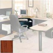 "Corner Workstation - 42""W x 41-7/8""D x 28-3/8""H Mahogany"
