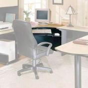 """Corner Workstation - 42""""W x 41-7/8""""D x 28-3/8""""H Maple"""