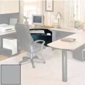 "Corner Workstation - 42""W x 41-7/8""D x 28-3/8""H Gray"