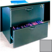 "Lateral File - 29-5/8""W x 19-3/4""D x 26-3/4""H Gray"