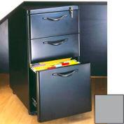 """Box/Box/File Mobile Pedestal - 14-3/4""""W x 19-3/4""""D x 27-1/4""""H Gray"""