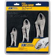 Irwin® Vise-Grip® 3 Pc. Original Locking Pliers Set In Black Tray: 10CR, 7CR, 5CR