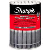 Sharpie® Metallic Silver Permanent Markers, 36/Canister