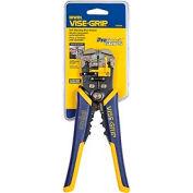 "IRWIN VISE-GRIP® 2078300 8"" Self-Adjusting Wire Stripper/Cutter/Crimper W/ Pro Touch Grips"