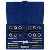 24 Pc. Fractional Tap & Hex Die Set
